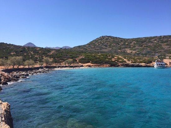 Elounda Island Villas : Another beach walking distance from hotel