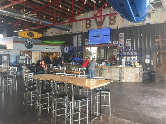 Canton, NC: Inside of the taproom