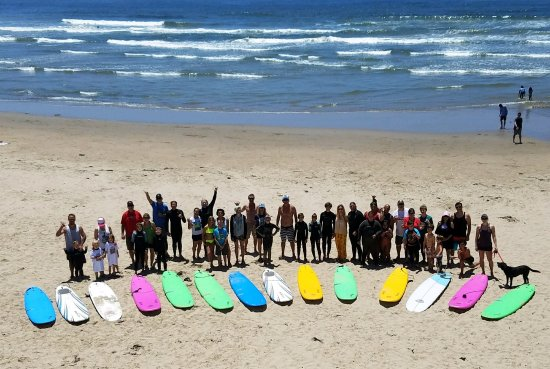Shell Beach, Καλιφόρνια: Surfing For Hope Pure Stoke Camp 2017