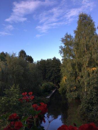 Bernay, France: je suis arrivée de nuit ; quel plaisir en ouvrant les yeux ce matin