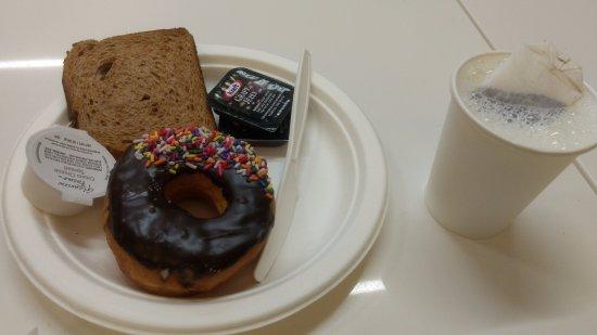 Broadway at Times Square Hotel: desayuno