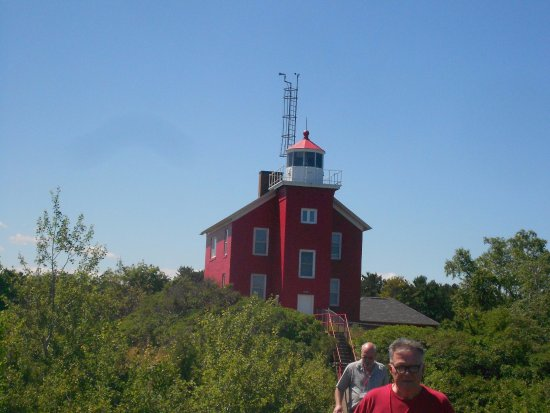 Marquette Maritime Museum: Lighthouse at Marquette, Mi