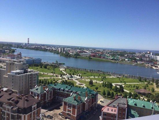 Vid Na Ozero Kaban Picture Of Grand Hotel Kazan Tripadvisor