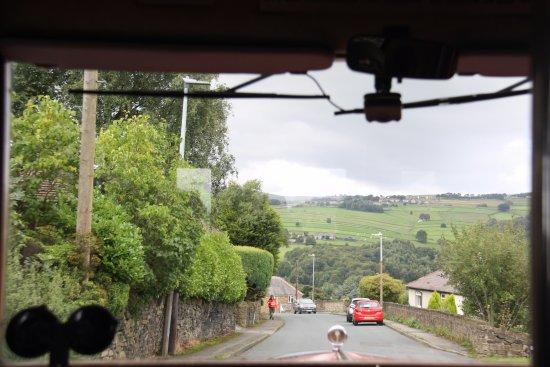 Huddersfield, UK: Steep slopes