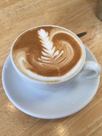 Porirua, New Zealand: Perfect Flat White (extra shot)
