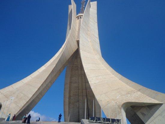 Memorial du Martyr: A view of the memorial
