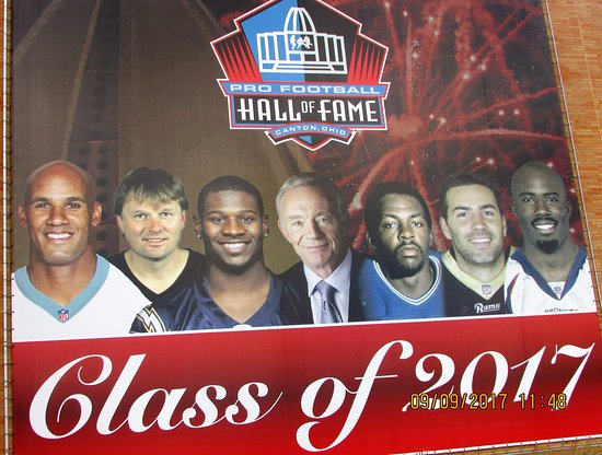 the 2017 inductees to the nfl hall of fame picture of pro football