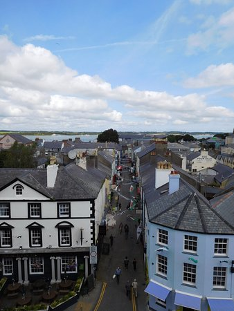 Caernarfon, UK: Veduta della cittadina