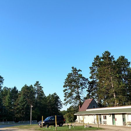 Lake George, MN: Partial view of motel