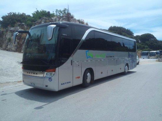 Naxos Bus Transfer