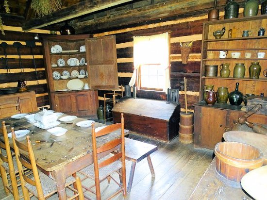 Weaverville, Carolina do Norte: inside vance homestead