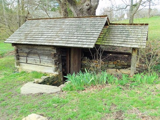 Weaverville, NC: spring house