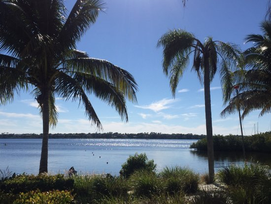 Port Saint Lucie, FL: Vue de la terrasse du restaurant