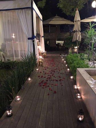Una Noche Romántica En La Mejor Terraza Jardín De