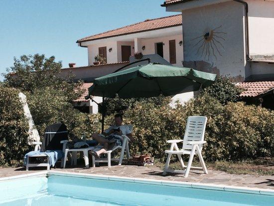 Nulvi, Italy: Lieve eigenaren, Georgio en Alma, heel gastvrij, heerlijk eten, rustige omgeving