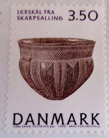 Loegstoer, Denmark: Skarpsallingkarret på frimærke