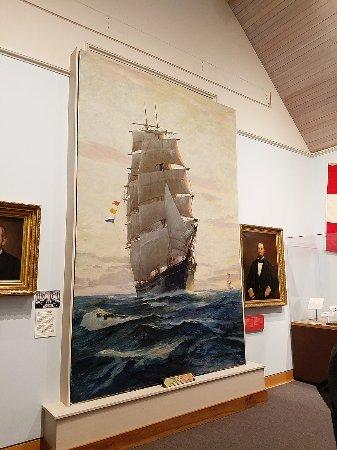 Bath, ME: Amazing paintings inside museum