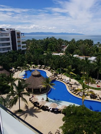 Marival Residences Luxury Resort: View from our room