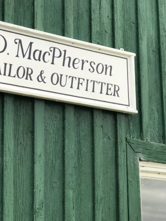 Newtonmore, UK: Tailor shoppe