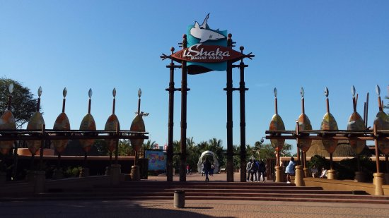 uShaka Marine World: Entrance