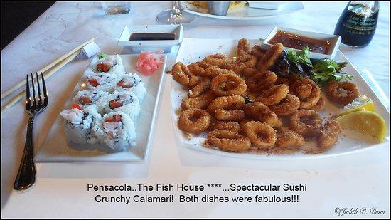 Fish house atlas pensacola menu prices restaurant for Atlas house uzbek cuisine