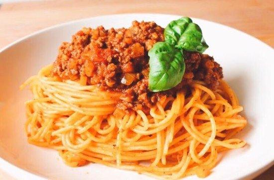 Spaghetti Alla Bolognese Picture Of Apribocca Italian Restaurant