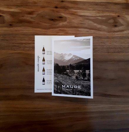Wanaka, New Zealand: Maude Wines - tastings