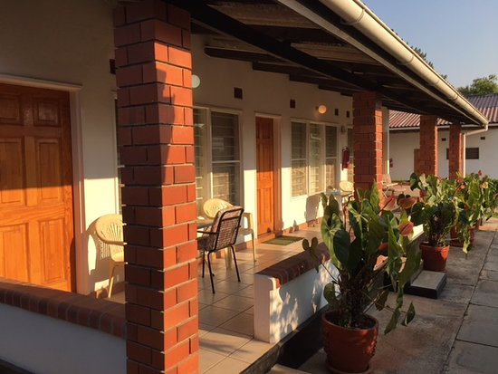 Ndola, Zambia: exterior of rooms