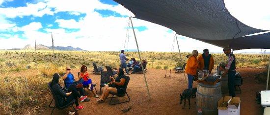 Sonoita, Аризона: A sea of grass in the land of wine.
