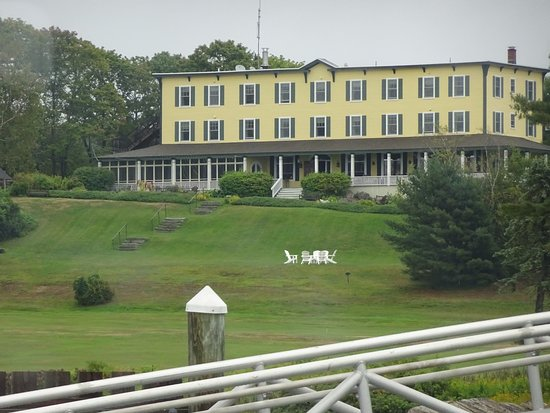 Chebeague Island, ME: Front view of the Inn