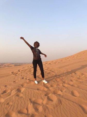 Dubai Private Adventure: The desert is beautiful!