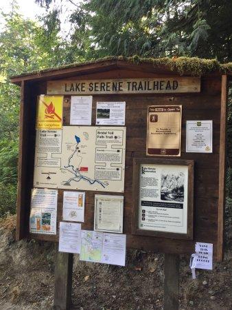 Gold Bar, วอชิงตัน: Lake Serene Trail, September 10, 2017, Chris Munson