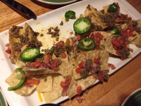 Woodbridge, Нью-Джерси: Nachos with beef