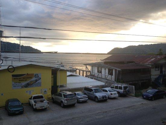 Banana Bay Marina Restaurant: View from across the street