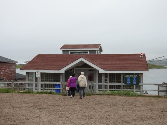 Whalers Restaurant: Welcome Center