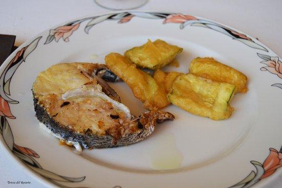 Vidreres, España: buen pescado