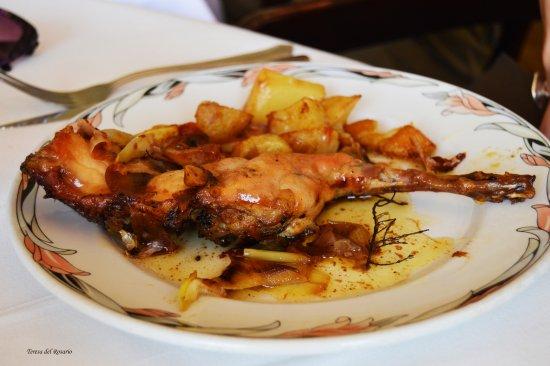 Vidreres, España: Pollo muy rico