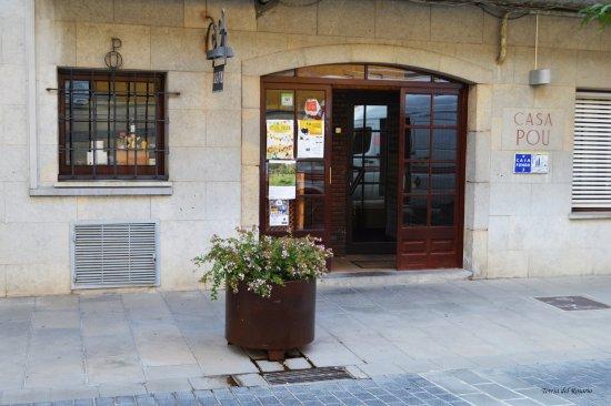 Vidreres, İspanya: Entrada del restaurante