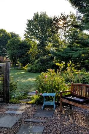 Wakefield, RI: One of the gardens