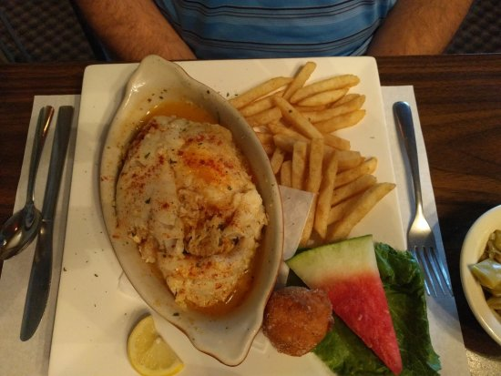 Montross, VA: Stuffed rockfish
