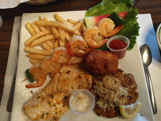 Yesterday's Family Restaurant: seafood trio