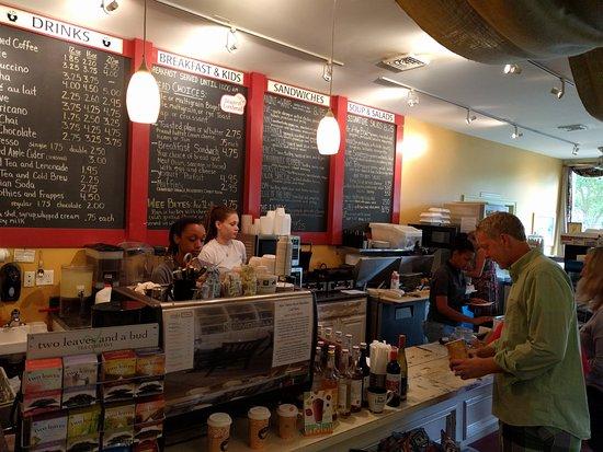 Irvington, Вирджиния: menu board