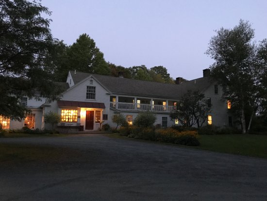 Quechee, VT: The inn at twilight--lovely