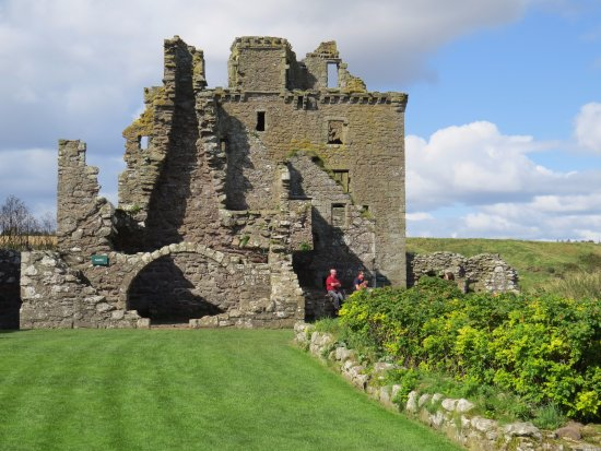 Stonehaven, UK: Within the castle.