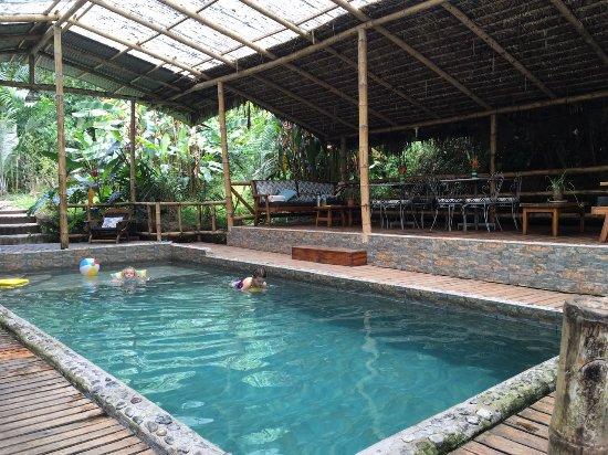 Hosteria Septimo Paraiso: Tempered Pool