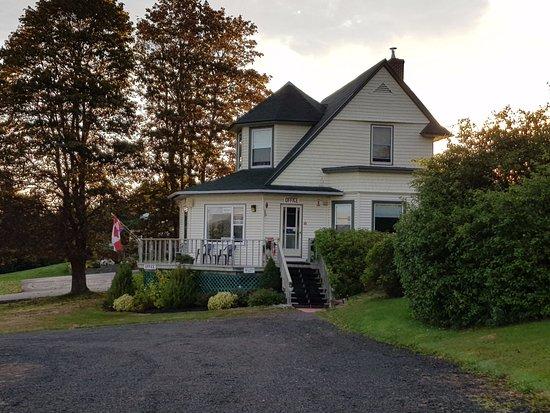 Smith's Cove, Canada: Office und Frühstücksraum