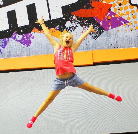 Wodonga, Australia: Jumping for joy on our 50+ connect trampolines