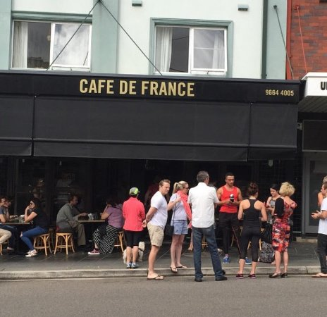 Cafe de France: Always worth the wait