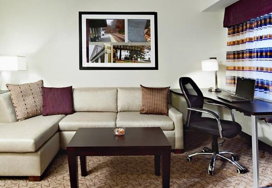 Foxboro, MA: One-Bedroom Suite Work Area