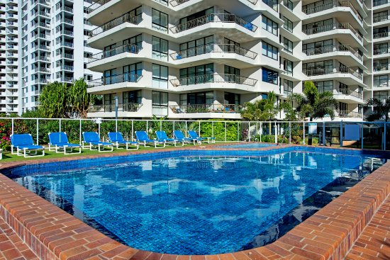 Indoor Heated Pool Picture Of Ultiqa Beach Haven On Broadbeach Broadbeach Tripadvisor